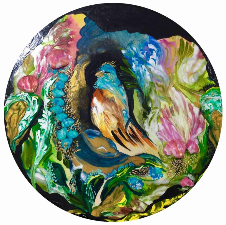 Ode To Bridgerton: Blue Bird of Happiness | Bird collection by Diana Zoe Coop