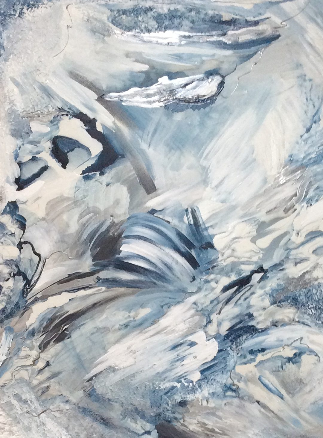 Abstract art collection by North Vancouver artist Diana Zoe Coop | Untitled | Commission