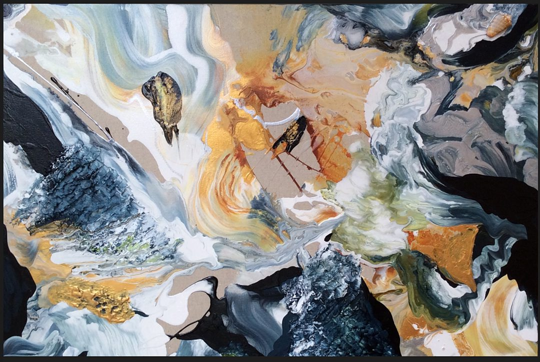 Abstract art collection by North Vancouver artist Diana Zoe Coop | Weightless